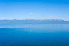 Baikal in summer stock photo