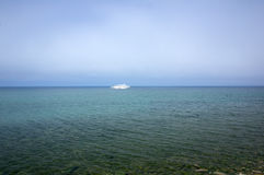 Baikal tranquille Photo stock
