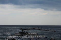 Baikal vor dem Sturm Lizenzfreie Stockfotografie