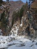 Baikal w zimie Tajemniczy miejsca obrazy royalty free