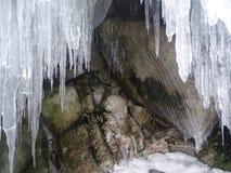 Baikal w zimie Tajemniczy miejsca obrazy stock