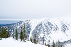 Baikal winter mountains Royalty Free Stock Photography