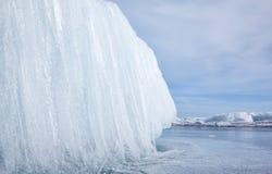 Baikal in winter Stock Photos