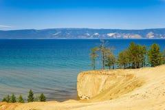 baikal wyspy jeziorny olkhon filaru szaman Zdjęcie Royalty Free