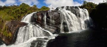 Baiker瀑布,哈顿位置 库存图片