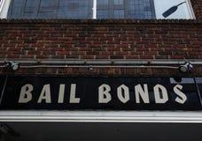 Bail Bond sign Stock Photos