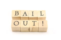 Bail Out Stock Photography