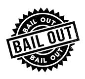 Bail Out rubber stamp Royalty Free Stock Images