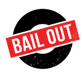 Bail Out rubber stamp Stock Photo