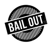 Bail Out rubber stamp Stock Photography