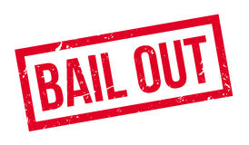 Bail Out rubber stamp Stock Photos