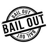 Bail out stamp Royalty Free Stock Photo