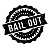 Bail out stamp Stock Image