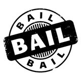 Bail rubber stamp Stock Photography