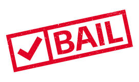 Bail rubber stamp Royalty Free Stock Photo