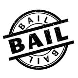 Bail rubber stamp Royalty Free Stock Photography