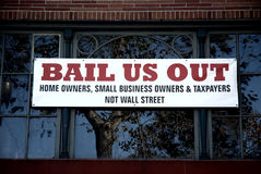 Bail Us Out Royalty Free Stock Image