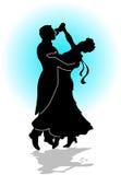 Baila el vals la danza Imagen de archivo libre de regalías
