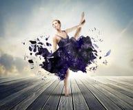 Bailado creativo Fotografia de Stock Royalty Free