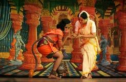 Bailado da dança de Ramayana foto de stock royalty free
