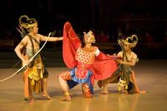 Bailado de Ramayana imagem de stock