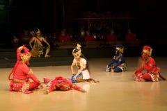 Bailado de Ramayana fotografia de stock