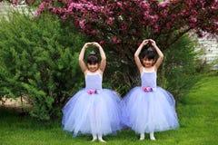 Bailado do Kiddie Fotografia de Stock