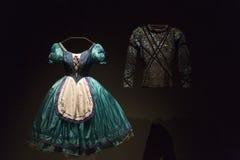 Bailado e exposição da paixão no museu de artes e de ofícios em Zagreb, Croácia Foto de Stock Royalty Free