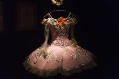 Bailado e exposição da paixão no museu de artes e de ofícios em Zagreb, Croácia Imagens de Stock
