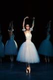 Bailado Giselle na ópera do estado de Praga fotografia de stock