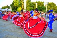 Bailado mexicano excitante Imagem de Stock