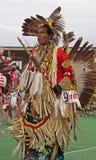 Bailarín #12 del nativo americano Fotografía de archivo