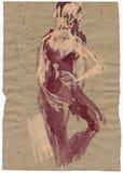 Bailarín 3 de la bailarina Foto de archivo libre de regalías