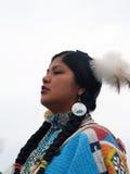 Bailarín #4 del nativo americano Foto de archivo