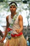 Bailarín aborigen joven Fotos de archivo libres de regalías