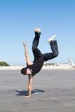 Bailarín activo imagen de archivo libre de regalías