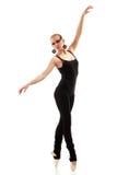 Bailarín adolescente de la muchacha Fotos de archivo libres de regalías