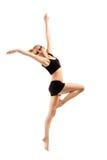Bailarín adolescente de la muchacha Foto de archivo