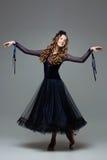 Bailarín adolescente hermoso del salón de baile Foto de archivo libre de regalías