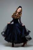 Bailarín adolescente hermoso del salón de baile Fotos de archivo libres de regalías