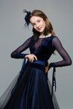 Bailarín adolescente hermoso del salón de baile Fotos de archivo
