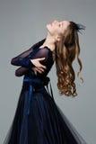 Bailarín adolescente hermoso del salón de baile Fotografía de archivo
