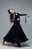 Bailarín adolescente hermoso del salón de baile Imagen de archivo