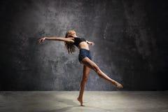 Bailarín agraciado imagenes de archivo