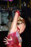 Bailarín atractivo fotografía de archivo