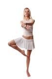 Bailarín atractivo foto de archivo