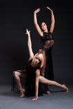 Bailarín atractivo dos Imagen de archivo