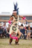 Bailarín azteca Foto de archivo libre de regalías