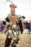 Bailarín azteca fotos de archivo