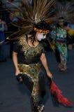 Bailarín azteca Foto de archivo